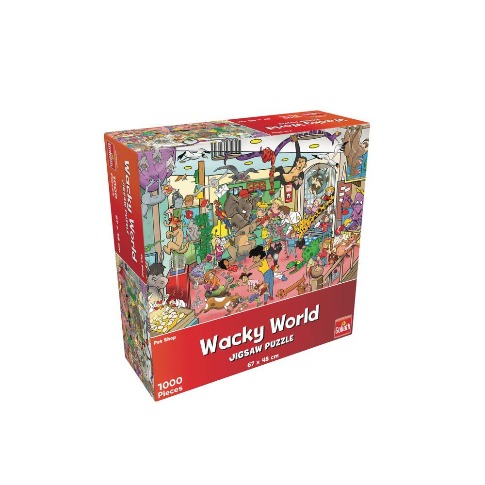 Wacky World puzzel dierenwinkel - 1000 stukjes