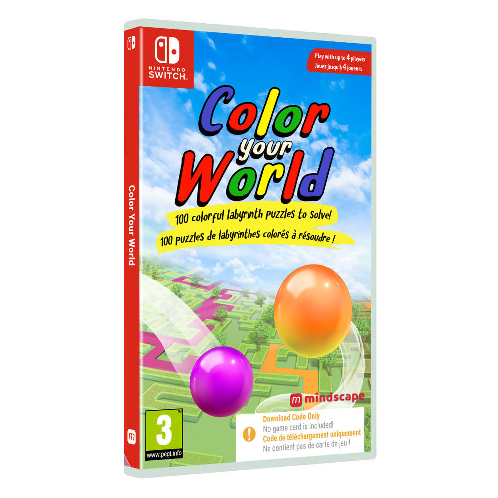 Nintendo Switch Color Your World - code in a box