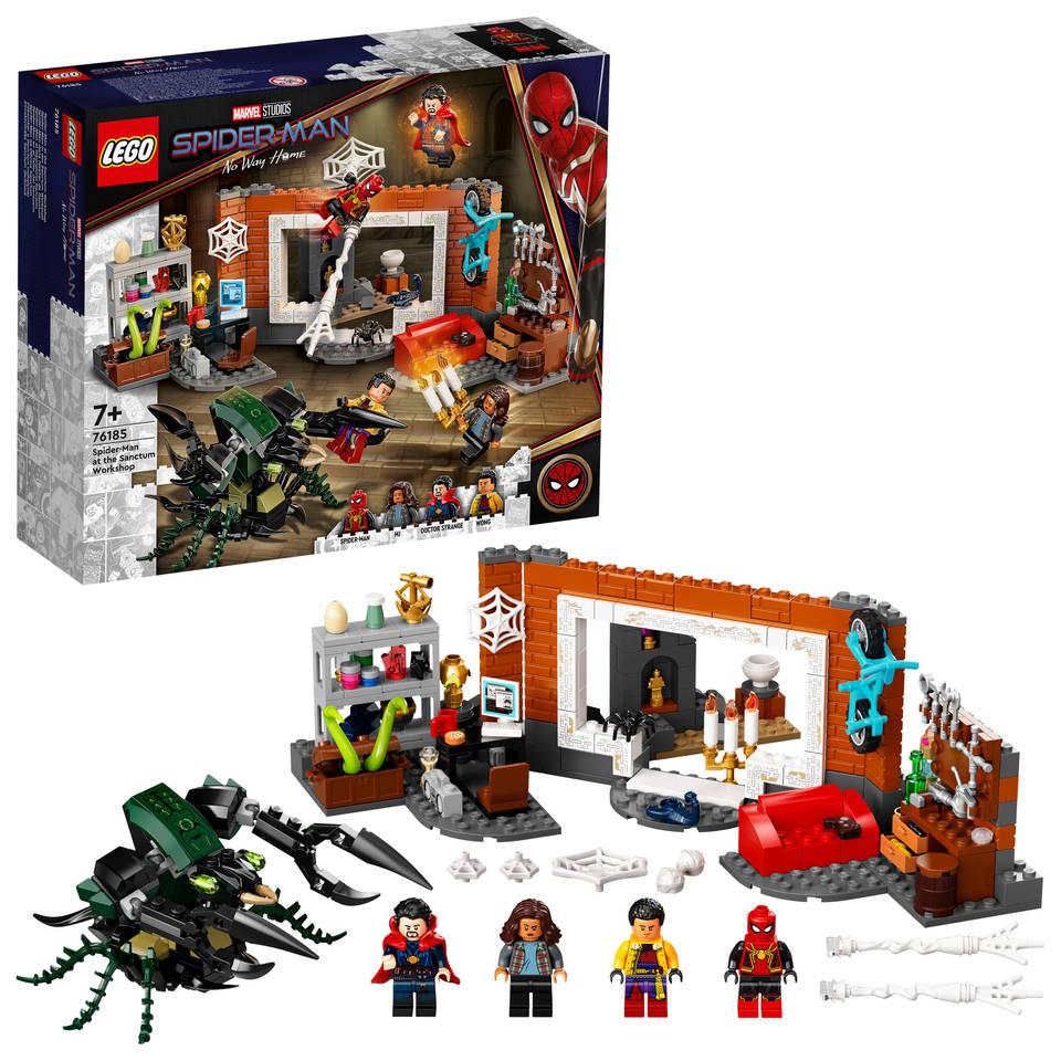 LEGO Marvel Super Heroes Spider-Man bij de Sanctum uitvalsbasis 76185