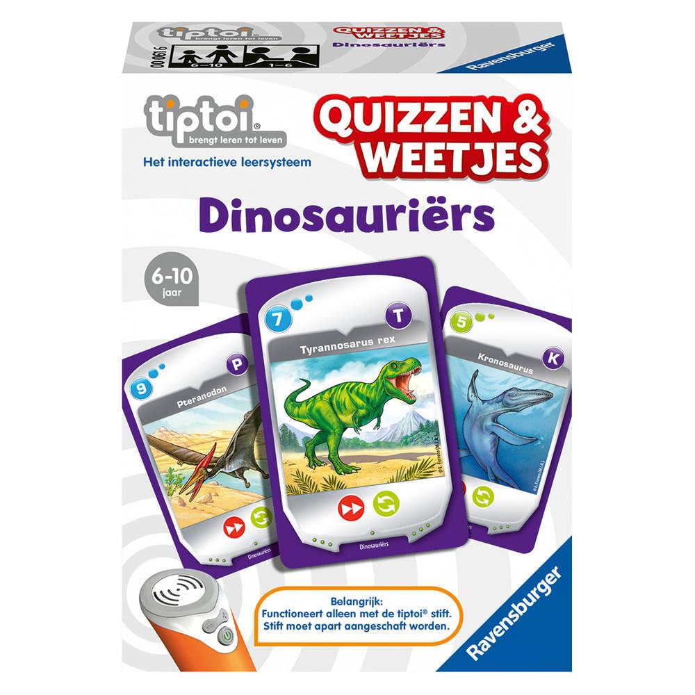 Ravensburger Tiptoi Quizzen & Weetjes dinosauriërs