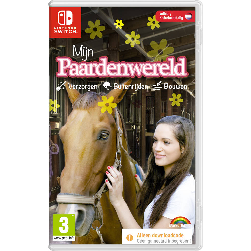 Nintendo Switch Mijn Paardenwereld - code in a box