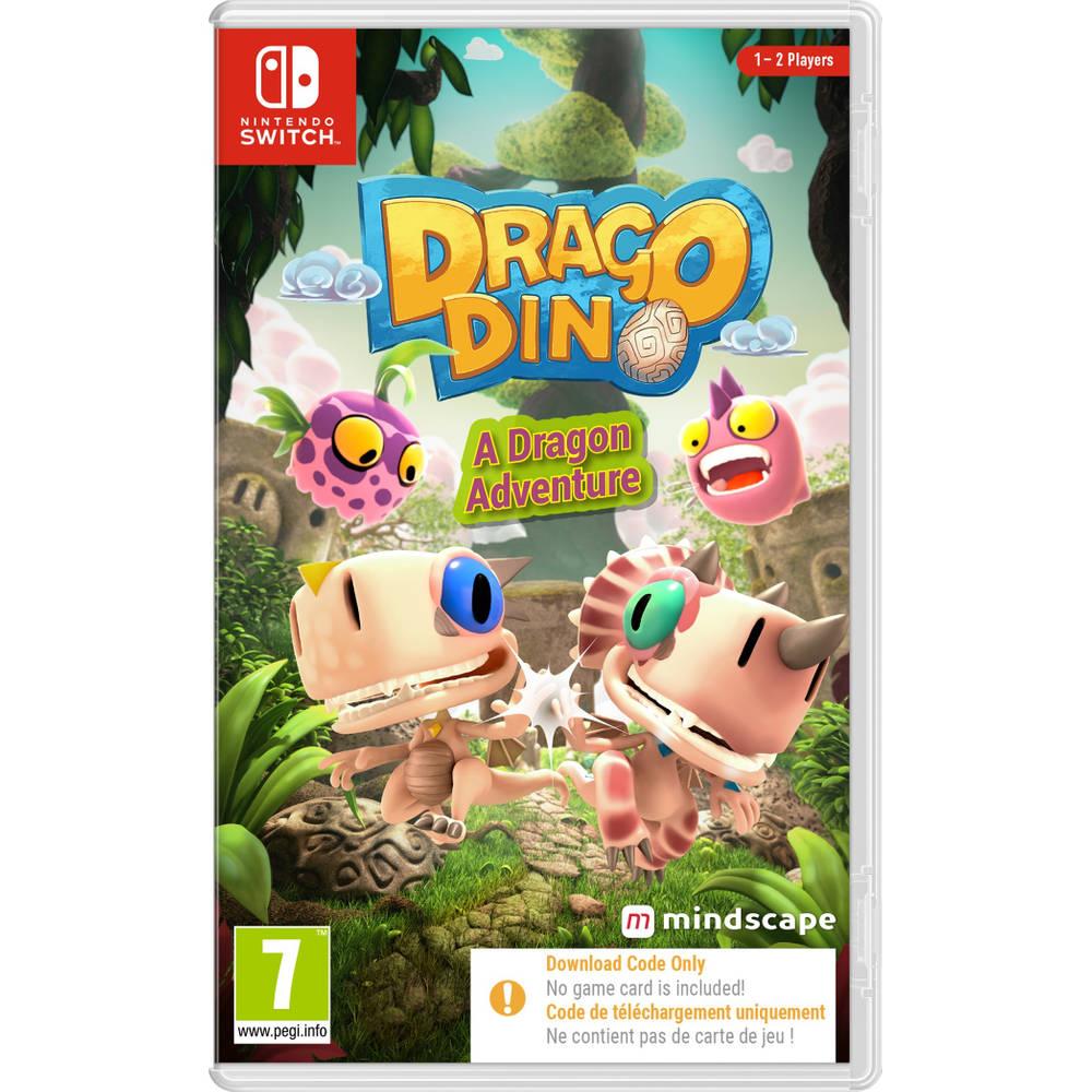 Nintendo Switch DragoDino: A Dragon Adventure - code in a box