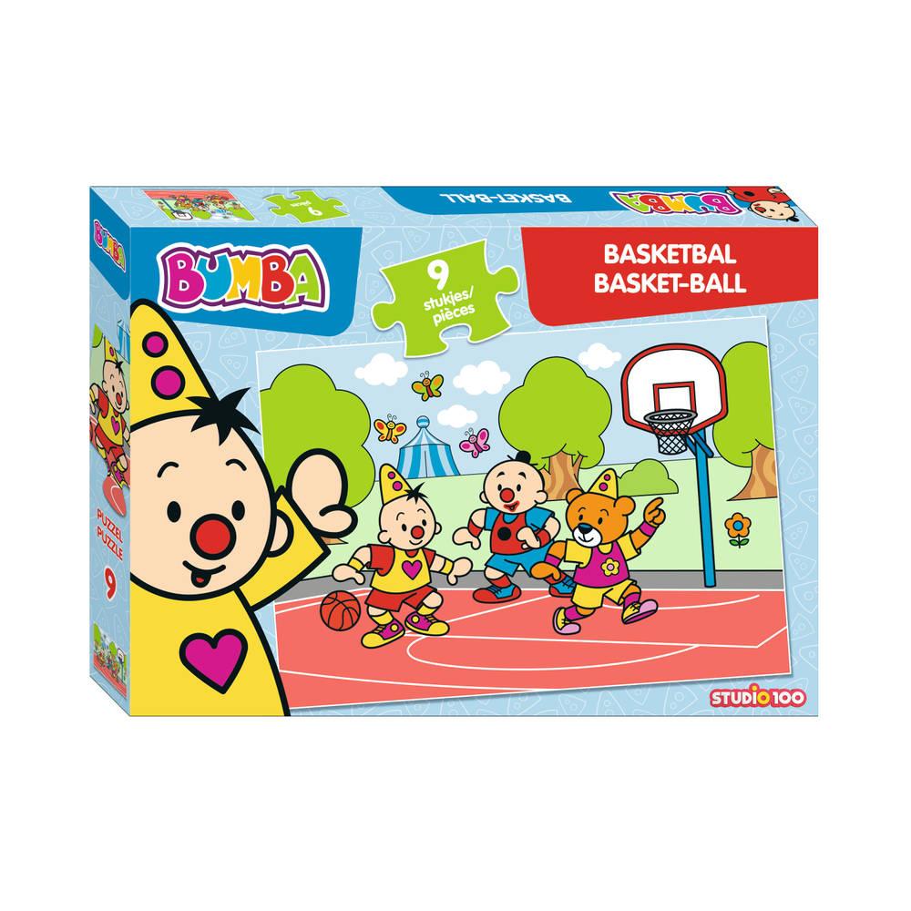 Bumba puzzel basketbal - 9 stukjes