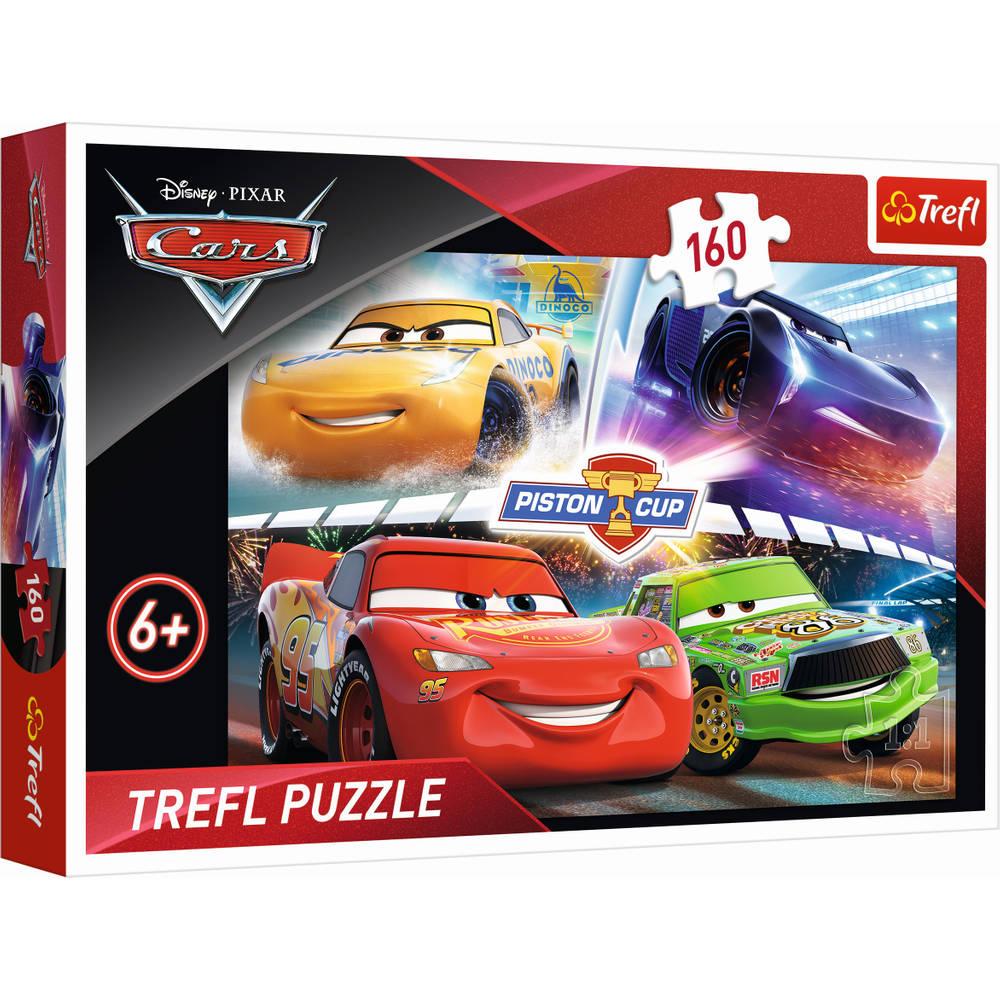Trefl Disney Cars 3 puzzel De race winnen - 160 stukjes