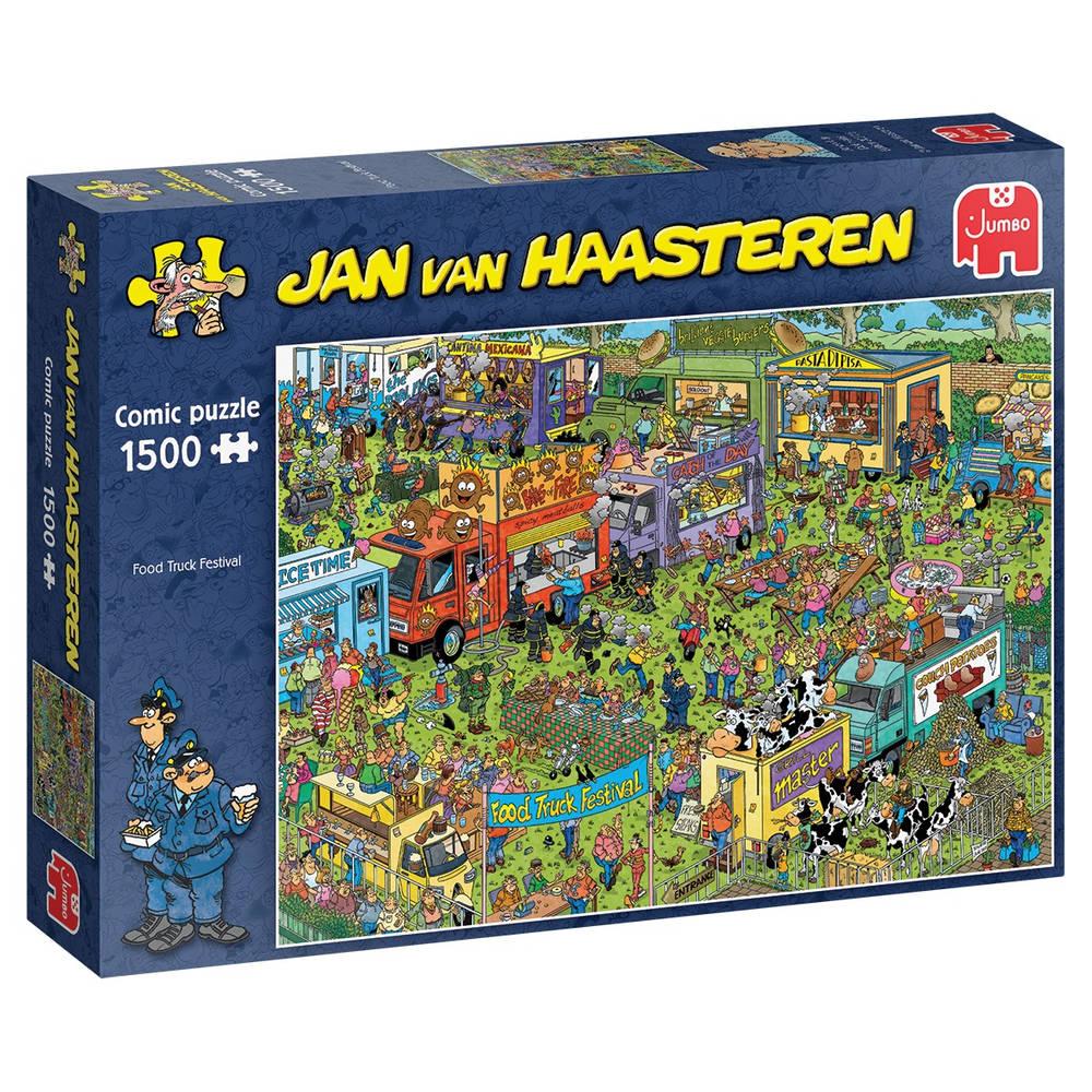 Jumbo Jan van Haasteren Food Truck festival - 1500 stukjes