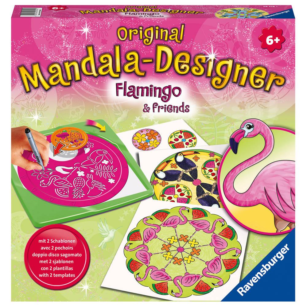 Ravensburger Mandala-Designer flamingo en vrienden