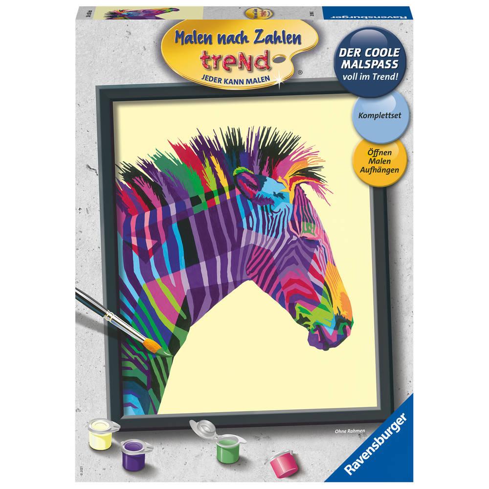 Ravensburger Schilderen op nummer bonte zebra