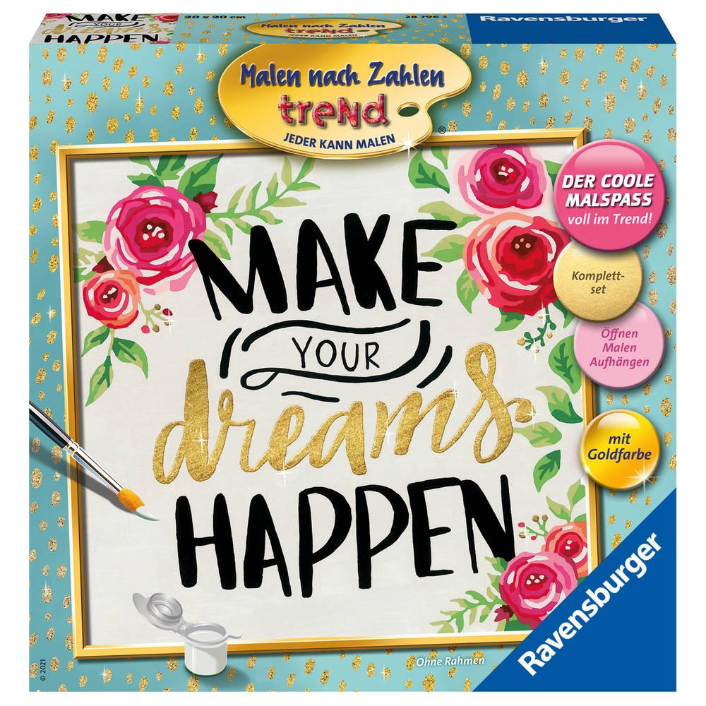 Ravensburger Schilderen op nummer Make your dreams happen
