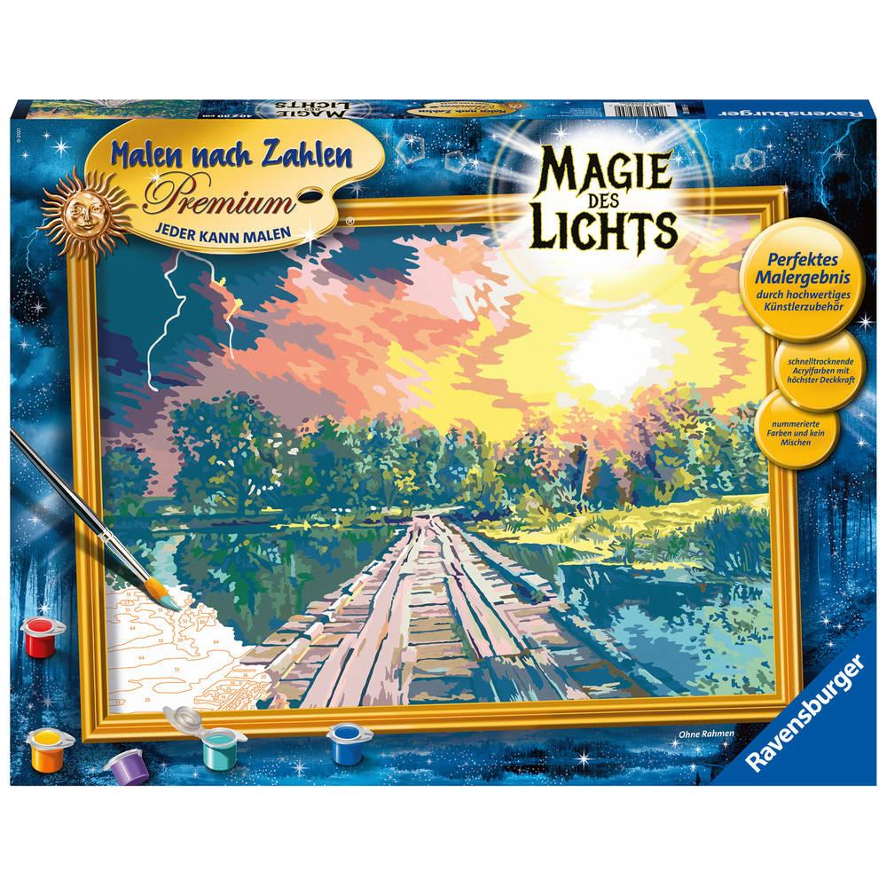 Ravensburger Schilderen op nummer Magie van het licht