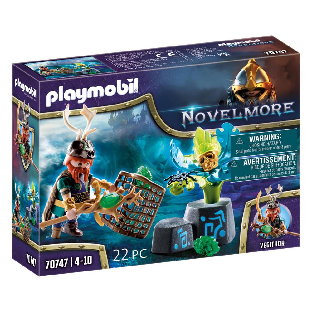 PLAYMOBIL Novelmore Violet Vale magiër van de planten 70747