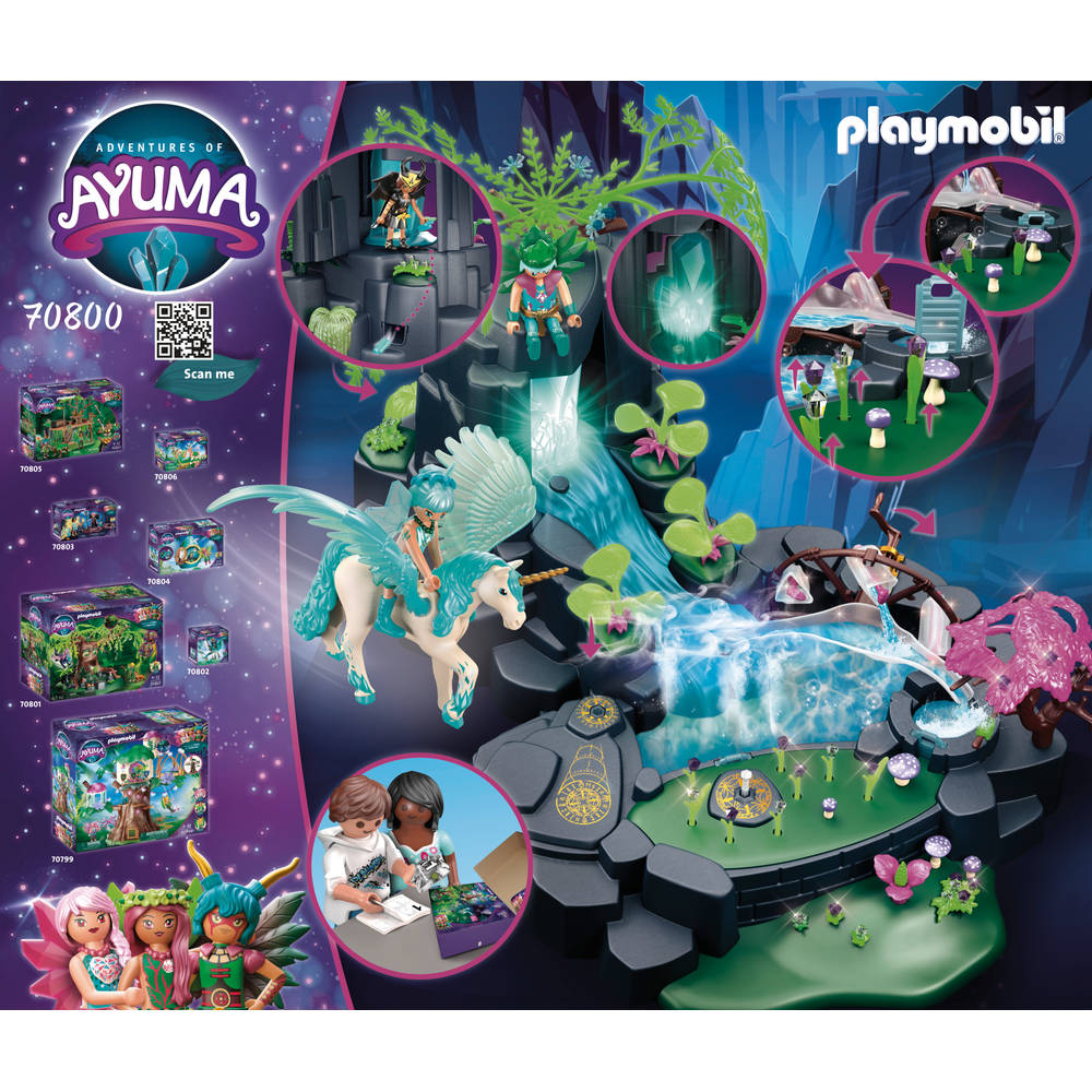 PLAYMOBIL Adventures of Ayuma magische energiebron 70800