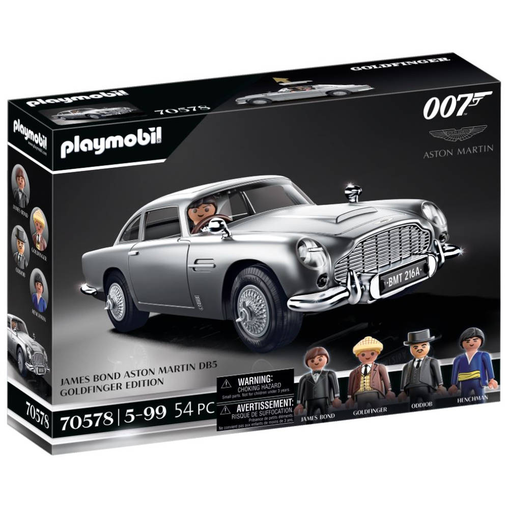 PLAYMOBIL James Bond Aston Martin DB5 Goldfinger Edition 70578