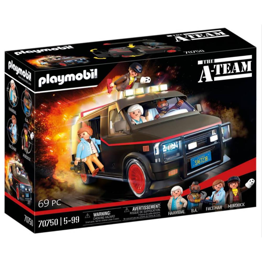 PLAYMOBIL De A-Team bus 70750