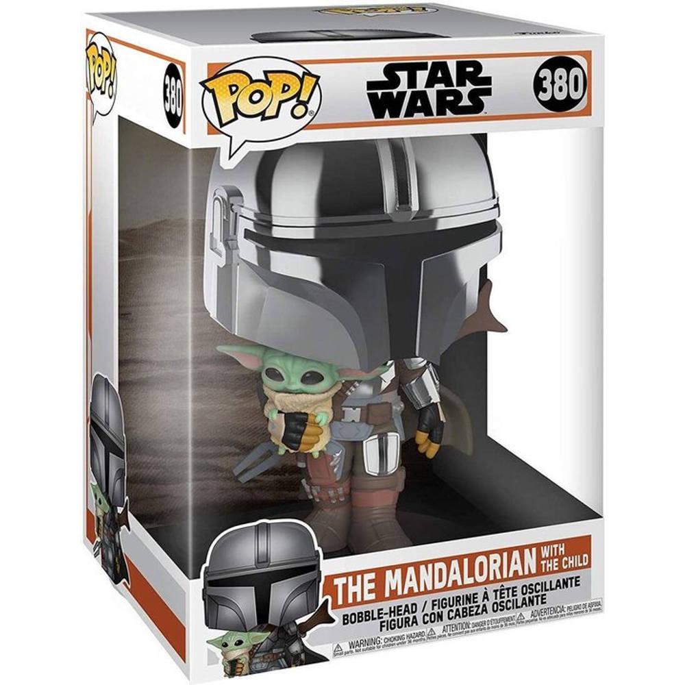 Funko Pop! figuur Star Wars: The Mandalorian The Mandalorian with The Child