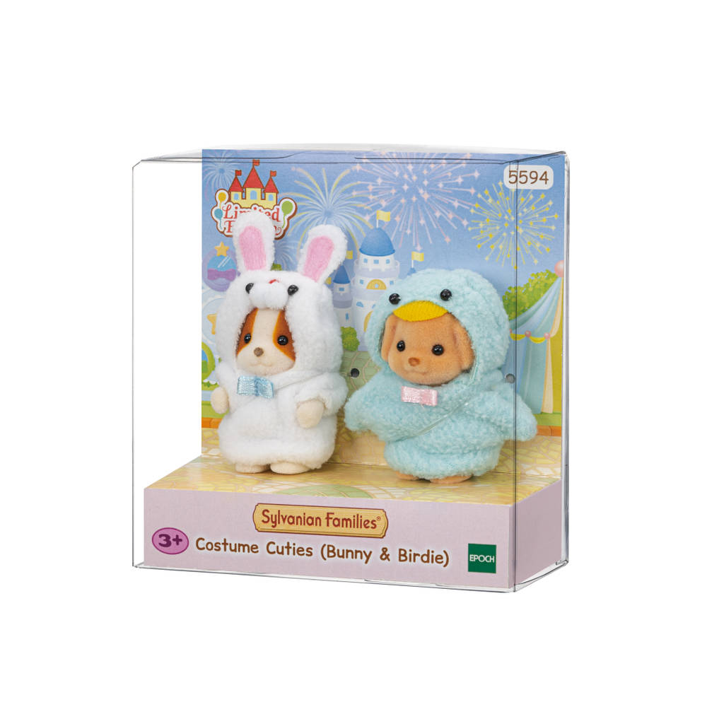 Sylvanian Families kostuumserie Bunny en Birdie