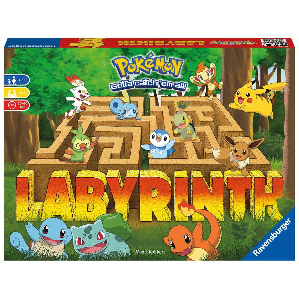 Ravensburger Pokémon labyrinth bordspel