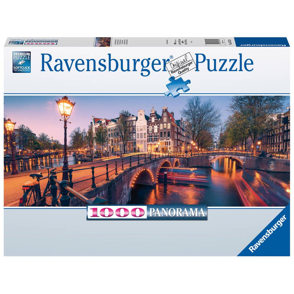 Ravensburger panorama puzzel Amsterdam- 1000 stukjes