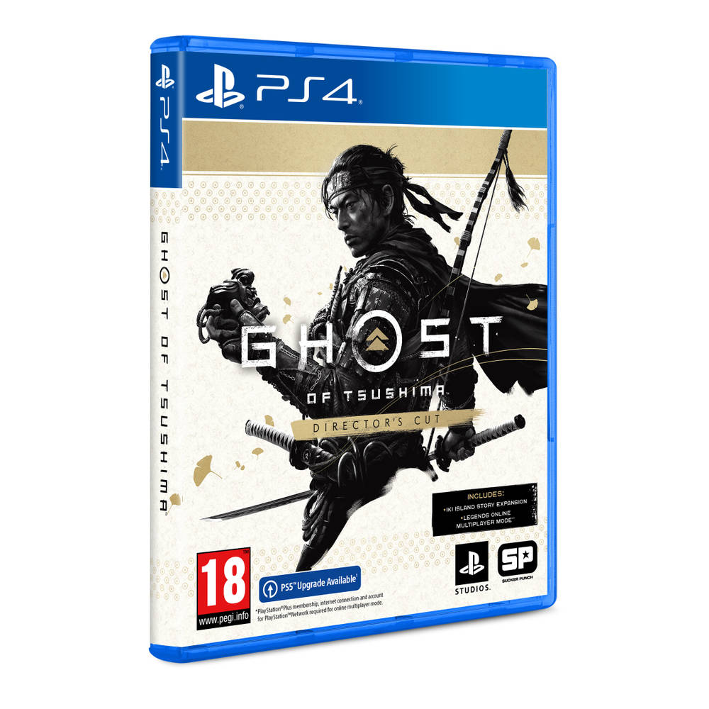 PS4 & PS5 Ghost of Tsushima Director's Cut