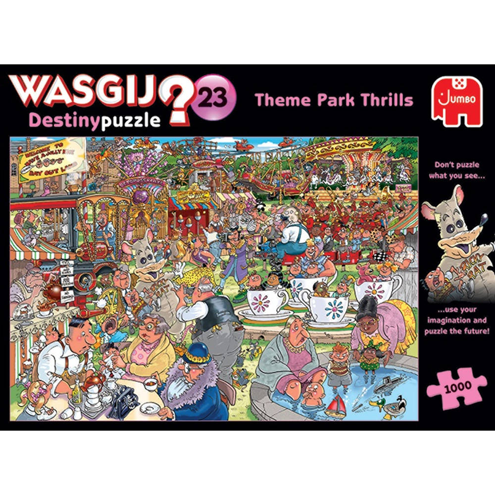 Jumbo Wasgij Destiny 23 puzzel Pretpark spektakel - 1000 stukjes