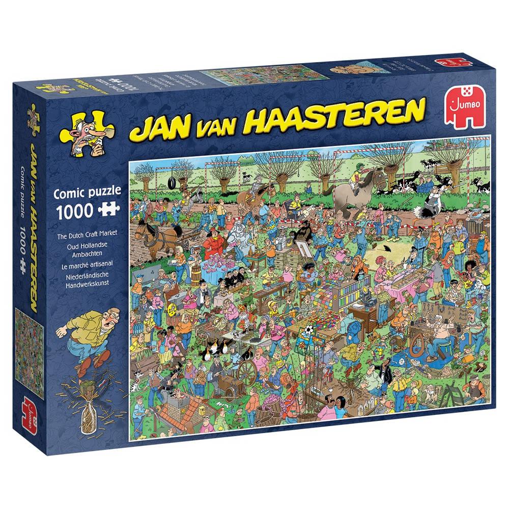 Jumbo Jan van Haasteren puzzel Oud Hollandse Ambachten - 1000 stukjes