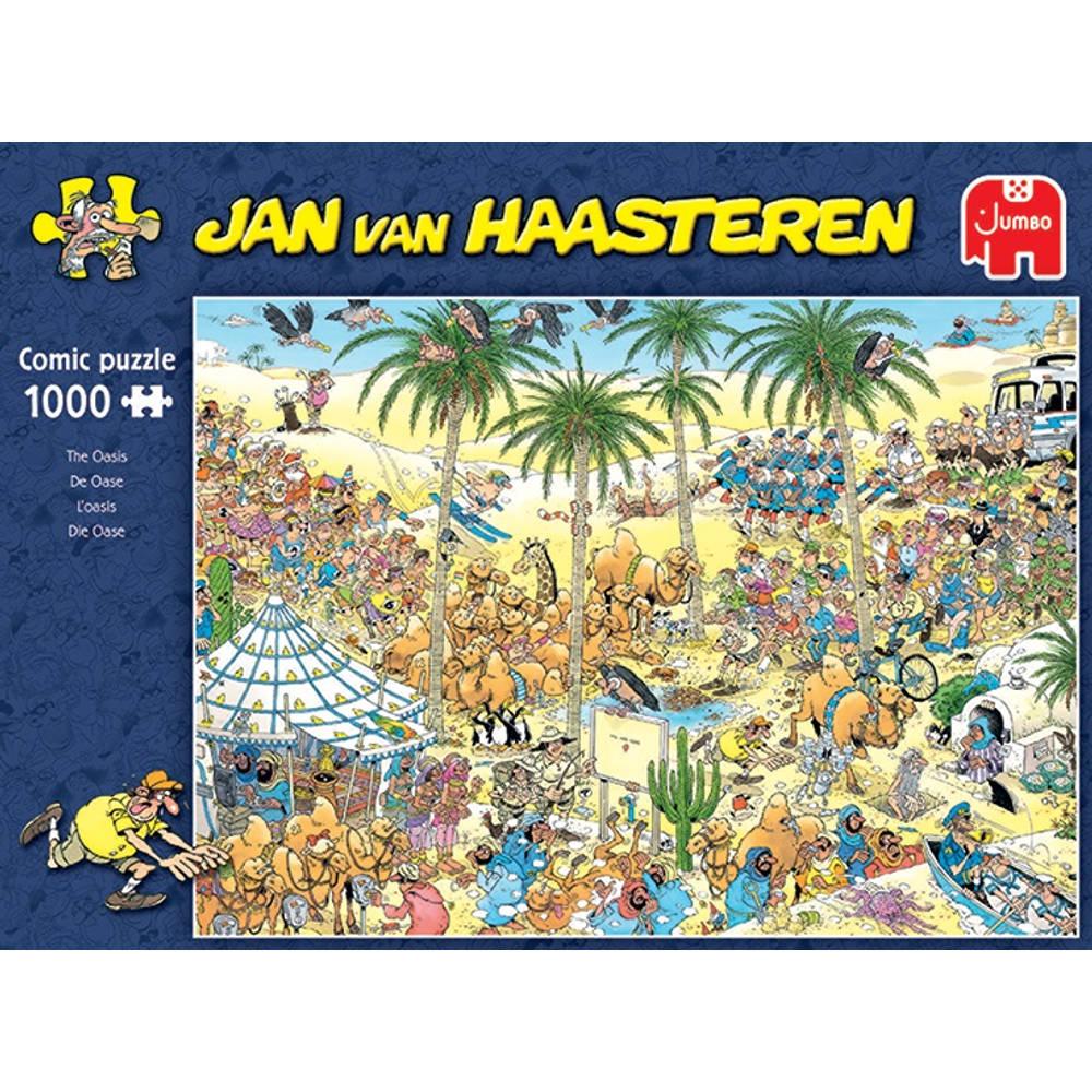Jumbo Jan van Haasteren puzzel De oase - 1000 stukjes