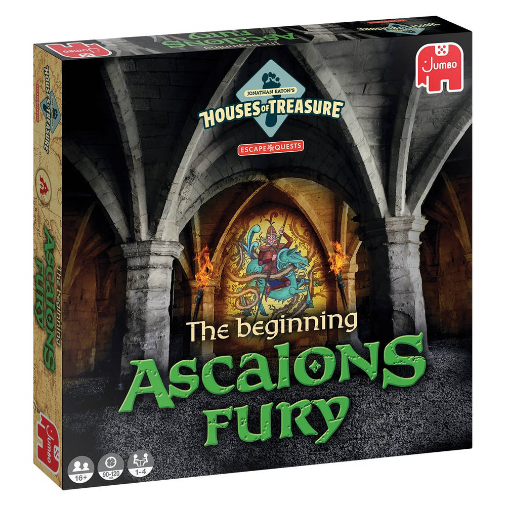 Jumbo Escape Quest: The beginning Ascalons Fury