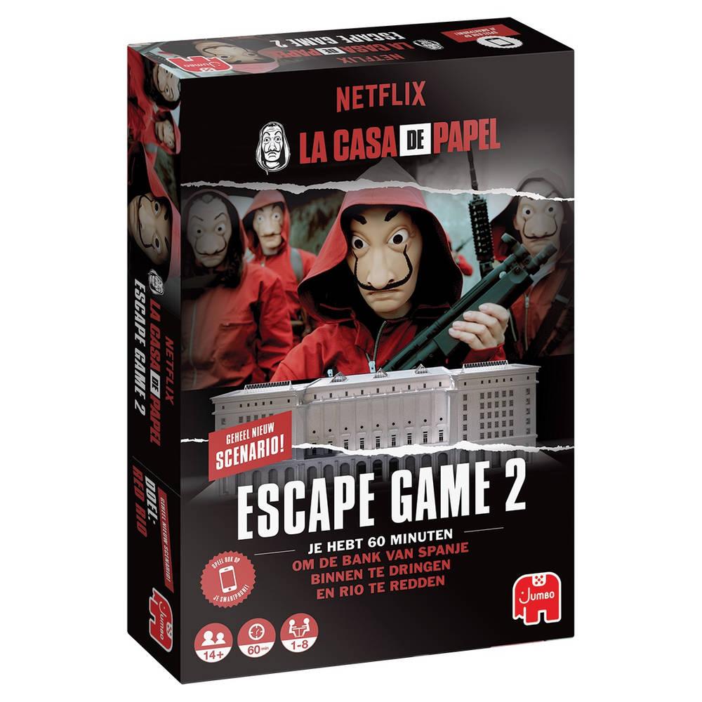 Jumbo La Casa de Papel Escape spel 2