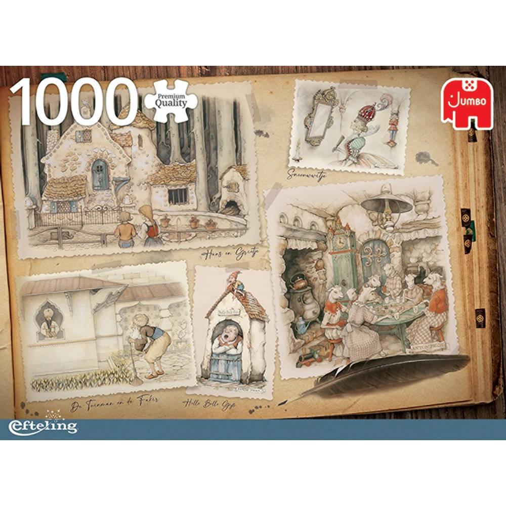Jumbo Anton Pieck puzzel Efteling - 1000 stukjes
