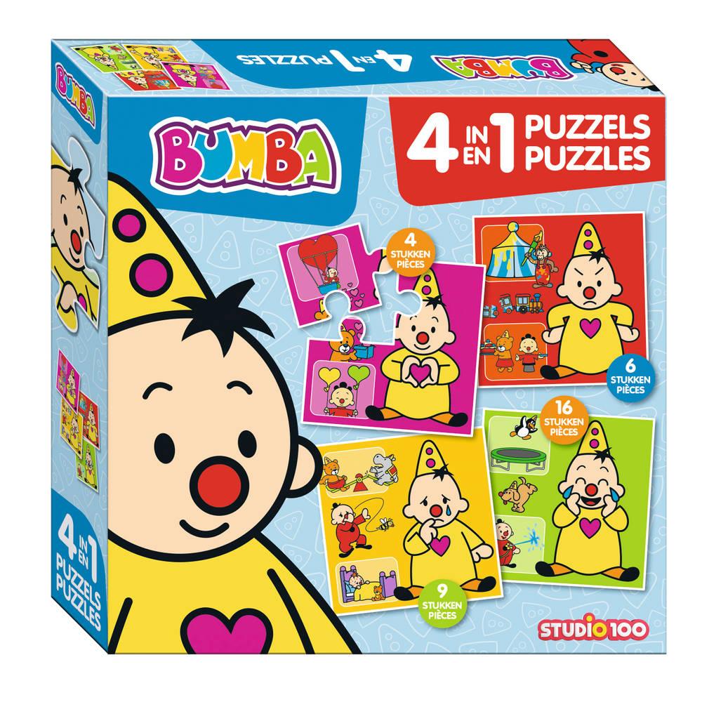 Bumba 4-in-1 puzzel gevoelens