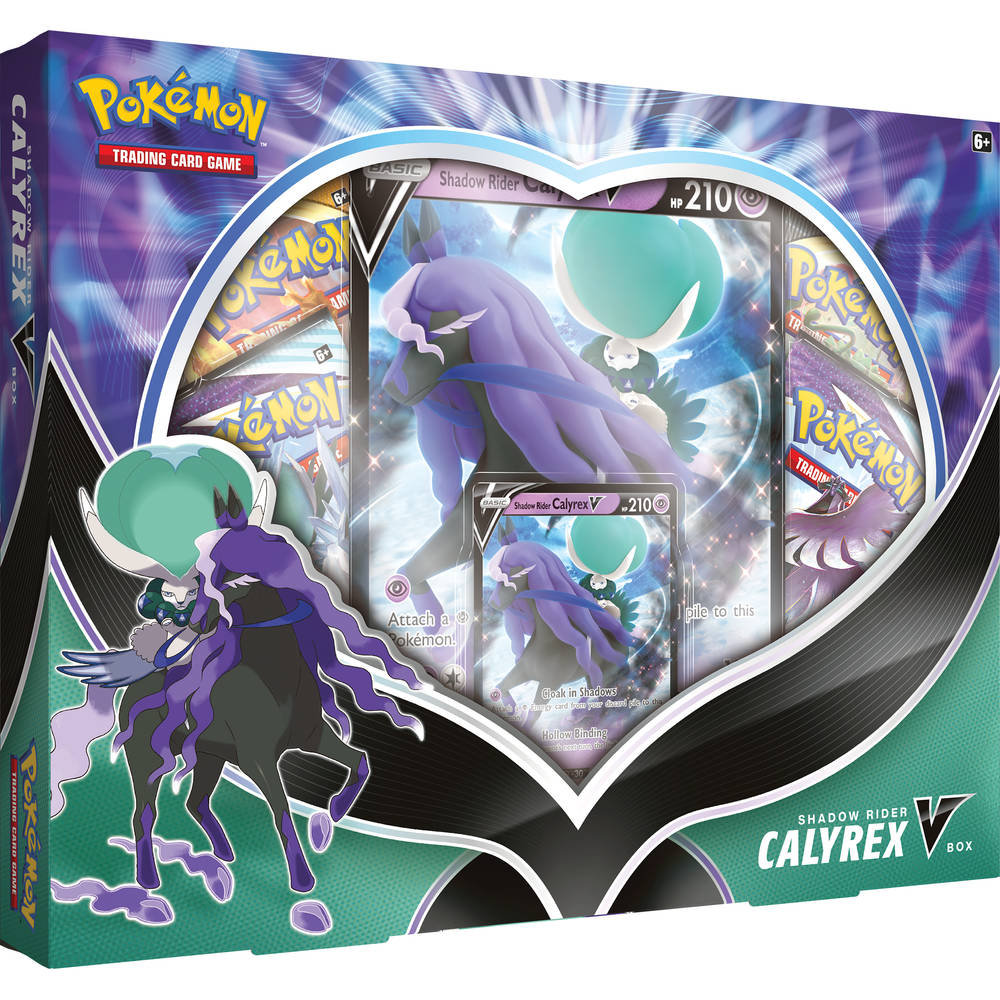 Pokémon TCG Calyrex V box Shadow Rider