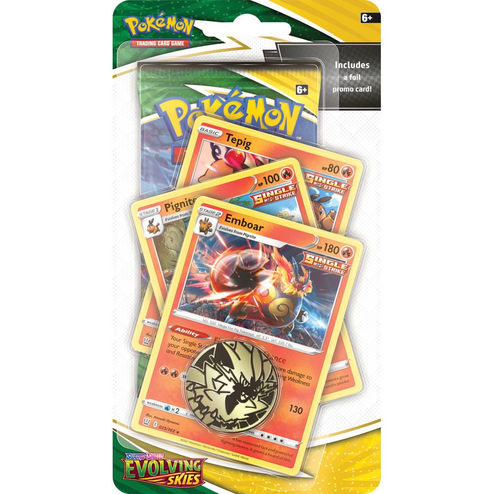 Pokémon TCG Evolving Skies Emboar