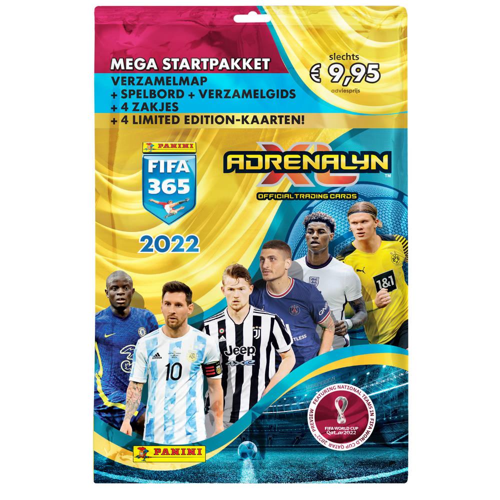 Panini Adrenalyn XL FIFA365 21/22 mega startpakket