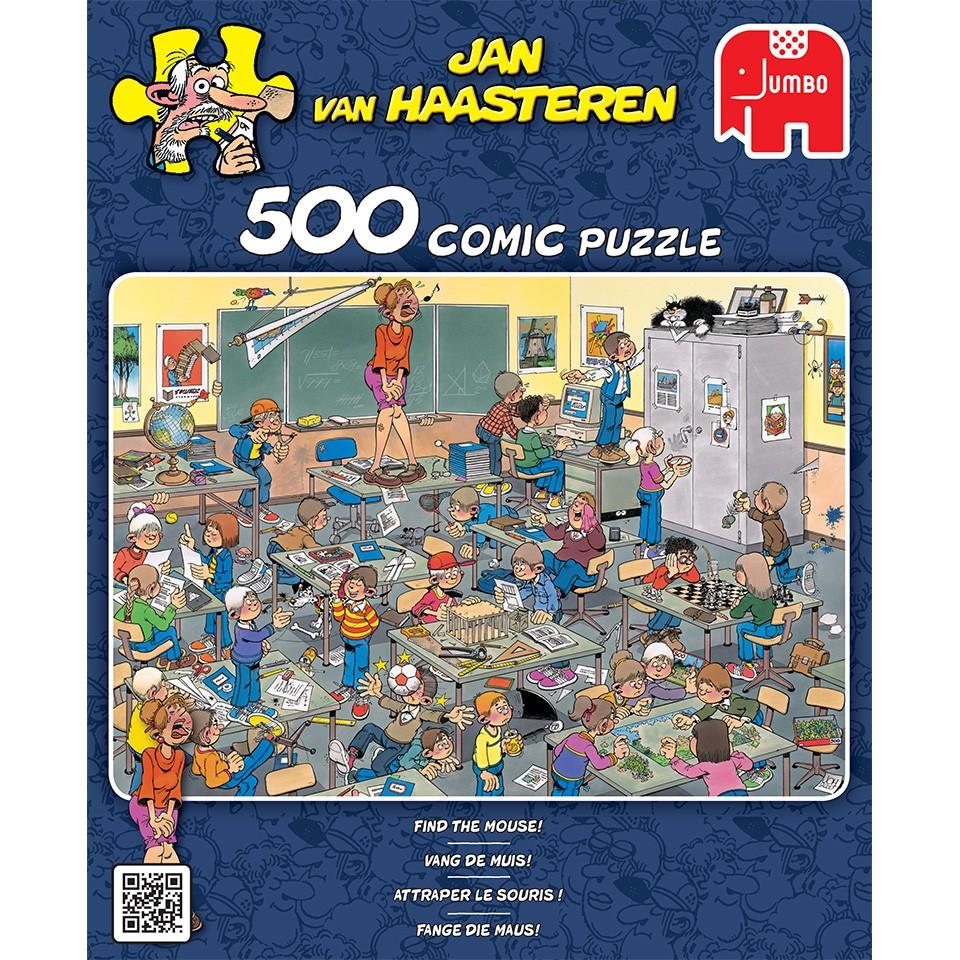 Jumbo Jan van Haasteren puzzel Vang de muis - 500 stukjes