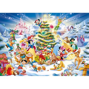 - 1000 Stuks Puzzel Kerstmis met Disney