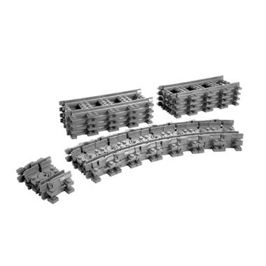 - LEGO City flexibele rails 7499