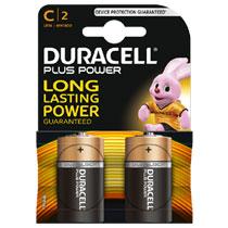 Duracell Plus Power C alkaline batterijen - 2 stuks