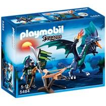 PLAYMOBIL Dragons draak met krijger 5484