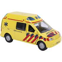 Kids Globe Traffic ambulance met licht en geluid