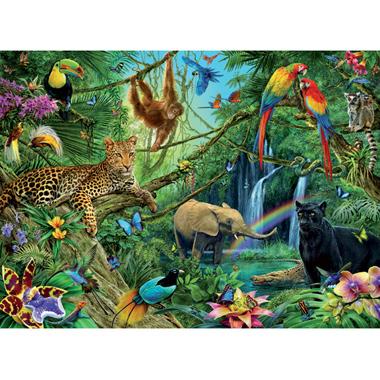- 200 Stuks Puzzel Dieren in de Jungle