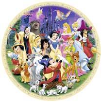 - 1000 Stuks Puzzel Disney World