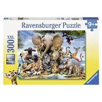 Ravensburger puzzel Afrikaanse vrienden - 300 stukjes