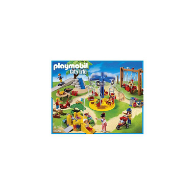- PLAYMOBIL City Life vrolijke speeltuin 5024