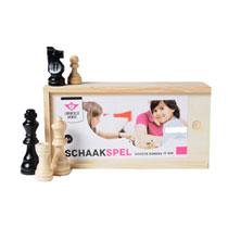 - Longfield schaakstukken in kistje