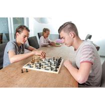 - Longfield schaakstukken in kistje -