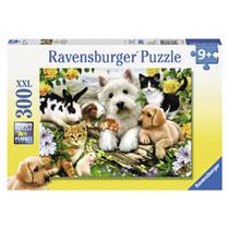 Ravensburger puzzel Dierenvriendjes - 300 stukjes