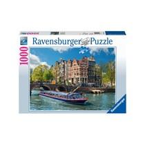 Ravensburger puzzel Rondvaart Amsterdam - 1000 stukjes