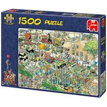 - 1500 Stuks Puzzel JVH Boederijbezoek