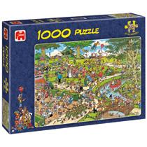 Jumbo Jan van Haasteren puzzel Het park - 1000 stukjes