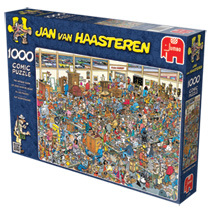 - Jan Van Haasteren 1000 Stuks Puzzel Op Zoek Naar De Schat