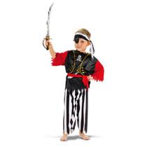 Piratenpak 4-delig - maat 116/134